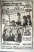 Romantics / The Real Kids - Detroit - 1978