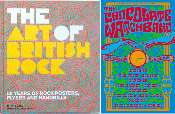 Art of British Rock - Book / Poster Special