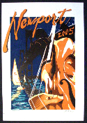Newport 2005 event poster by AJ Masthay