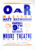 O.A.R - Maroon 5 * Seattle 2002