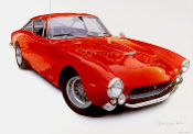 Harold Cleworth - 1964 Ferrari 250 GTB Lusso - S/N Vintage Litho