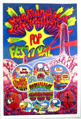 (02) Chambers Bros, CCR - SF International POP Festival - Art Pr
