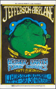 Jefferson Airplane * BG-085 * Flamin Groovies postcard