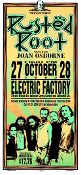 Rusted Root handbill * Electric Factory - Arminski 1995
