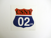 Crosby Stills Nash Young 2002 decal