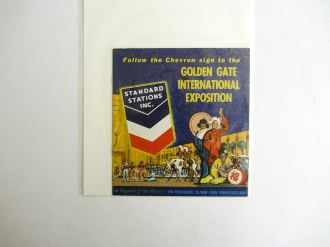 1939 GGIE - Follow the Chevron sign booklet