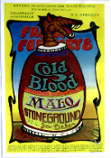 (25) Cold Blood - Malo - Stoneground * UC Berkeley 1974 13x19
