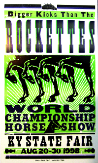 KY State Fair,poster,1998,Hatch Show Print