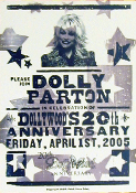 Dollywood,poster,20th Anniv print,Hatch Show Print