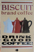 Hatch Show Print * Drink Good Coffee - with metalic inks!