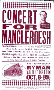 Concert For Manglerdesh 1996 * Hatch Show Print