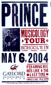 Prince - Musicology Tour 2004 - Gaylord * Hatch Show Print