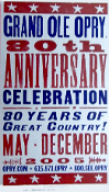Grand Ole Opry 80th Anniver,2005,Hatch Show Print