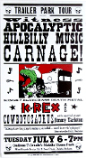 K-REX,Trailer Park Tour 2003,Hatch Show Print