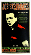 Joe Strummer,Thee Parkside,SF,2003,Chuck Sperry signed