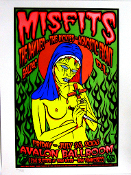 Misfits,Avalon Ballroom / SF 2003,Chris Shaw,S/N - mint