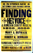 Finding Her Voice,Bufwack-Oermann 2003,Hatch Show Print