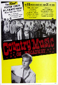 Country Music On Broadway 2003 (no credit letterpress)