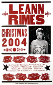 Leann Rimes Christmas 2004 tour Hatch Show Print