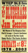 Bluegrass Jam WYEP 91.3 Hatch Show Print 2003