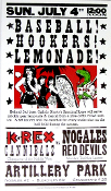 K-REX vs Nogales Red Devils July 4th, 2004 Hatch Show Print