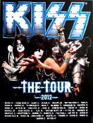 KISS THE TOUR 2012 poster