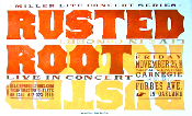 Rusted Root Carnegie Hall - Oakland 2005 Hatch Show Print