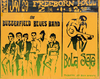(27) Paul Butterfield / Bola Sete UC Davis Thomas Morris