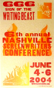 Nashville Screenwriters Conference 6TH 2004 Hatch Show Print