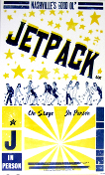 Jetpack UK 2006 Tour blank Hatch Show Print