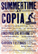 Copia Napa Summertime 2003 Hatch Show Print