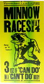 Minnow Races Carmichael Lynch 2004 Hatch Show Print