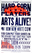 Hard Corn Players and Arts Alive 2004 Hatch Show Print