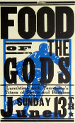 Food Of The Gods Tennessee's Titans 2004 Hatch Show Print