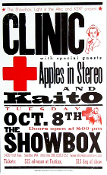 Clinic Apples In Stereo Showbox 2002 Hatch Show Print