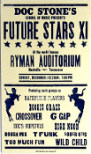 Doc Stone's School Of Music 2004 Ryman Aud Hatch Show Print