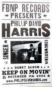 Phillip David Harris Debut Album Keep On Movin' 2004