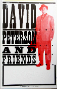 David Peterson And Friends 2004 Tour Blank Hatch Show Print