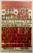 Red Dirt Extravaganza 1st Annual Purcell, OK Hatch Show Print