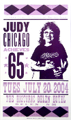Judy Chicago Achieves 65 Hatch Show Print 2004