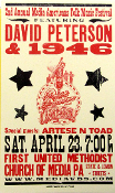 David Peterson & 1946 Hatch Show Print 2005