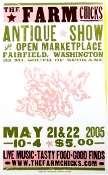 Farm Chicks Antique Show May 2005 Hatch Show Print