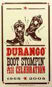 Durango Boot Stompin' 40th Anniv 2005 Hatch Show Print