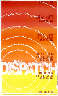 Dispatch The Last (show) Hatch Shell Boston Hatch Show Print