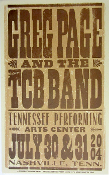 Greg Page TCB Band Tenn Performing Arts Center 2004 Hatch