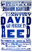 David Warren Reed Magic MT Vermont 2004 Hatch Show Print