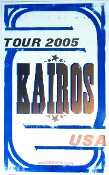 Kairos USA Tour 2005 Hatch show Print
