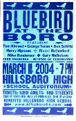 Bluebird At The Boro Hillsboro High 2004 Hatch Show Print