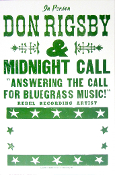 Dan Rigsby & Midnight Call Tour blank 2005 Hatch Show Print