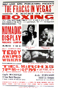 Boxing Layla McCarter Johnny Tocco's Gym Vegas Hatch Show Print